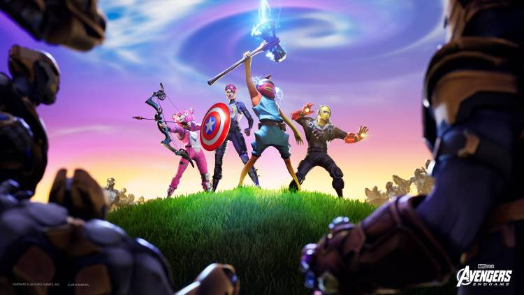 fortnite endgame avangers güncelleme battle royale