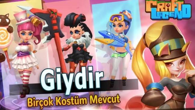 Craft Legend yeni mobil oyun IGG