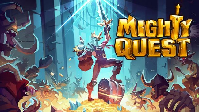 Mighty Quest for Epic Loot Mobil Oyunu Çıktı