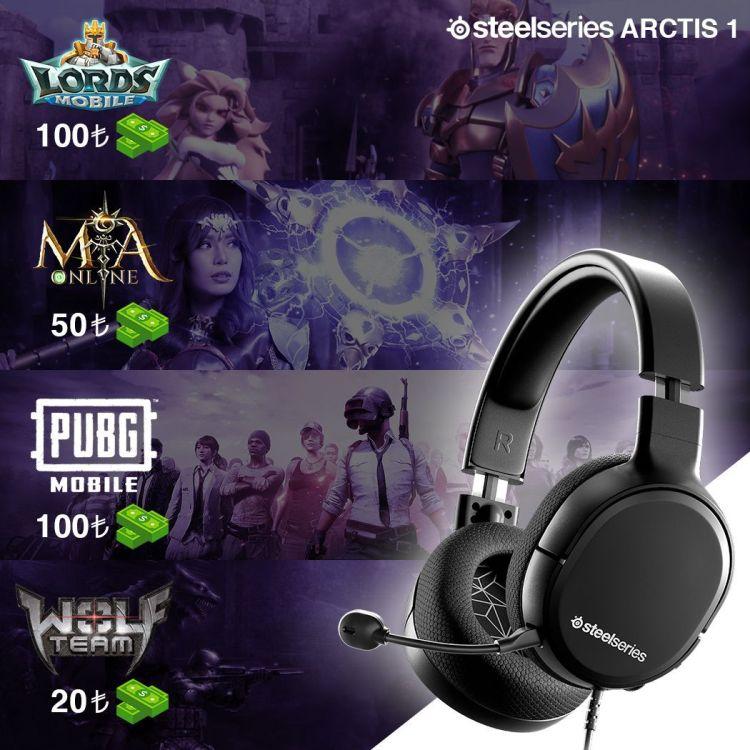 SteelSeries Arctis 1 Kablolu Oyuncu Kulaklığı Oyun Hediyeleri