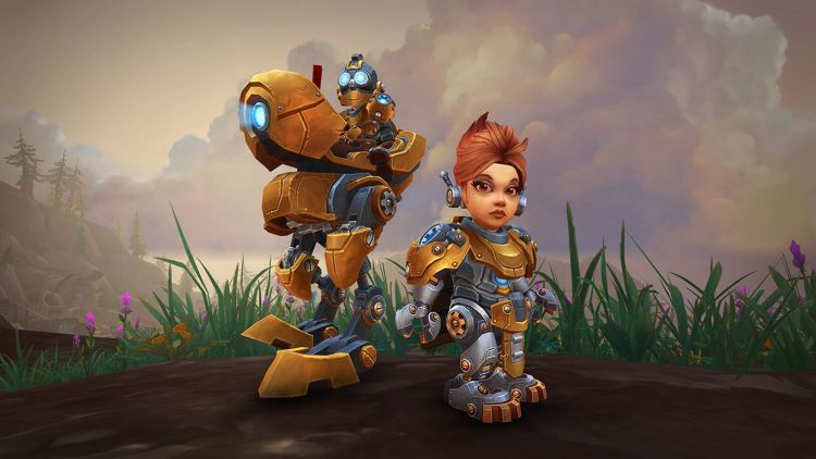 Mechagnomes ve Bineği - World of Warcraft