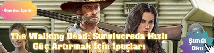 twd survivorsta hızlı güç kasma