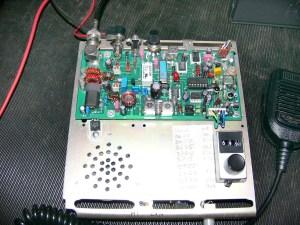 9W - 80m Transceiver afprøves 006