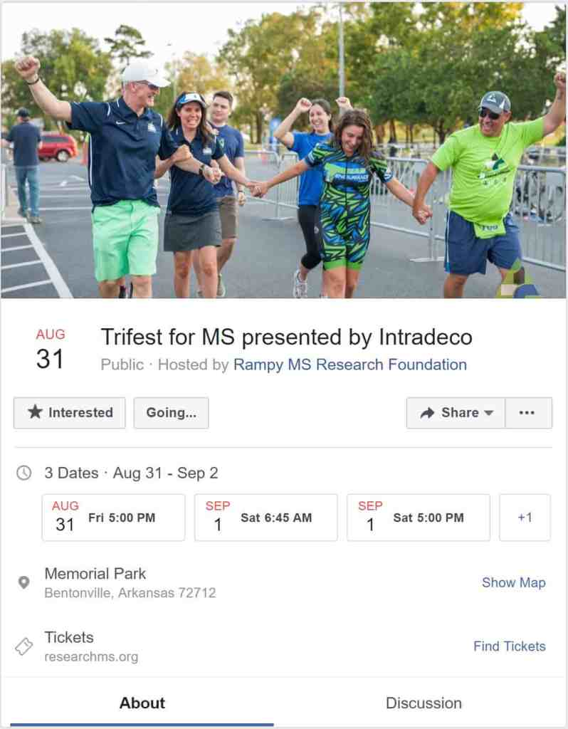 Weekend Ride Notification 8/24 | NWA Cycling News - Ozark Cycling Adventures, Cycling news and Routes in Northwest Arkansas NWA