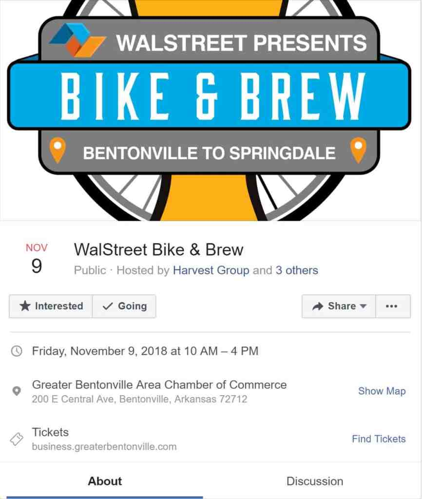 Weekend Ride Notification 11/9 | NWA Cycling News - Ozark Cycling Adventures, Cycling news and Routes in Northwest Arkansas NWA