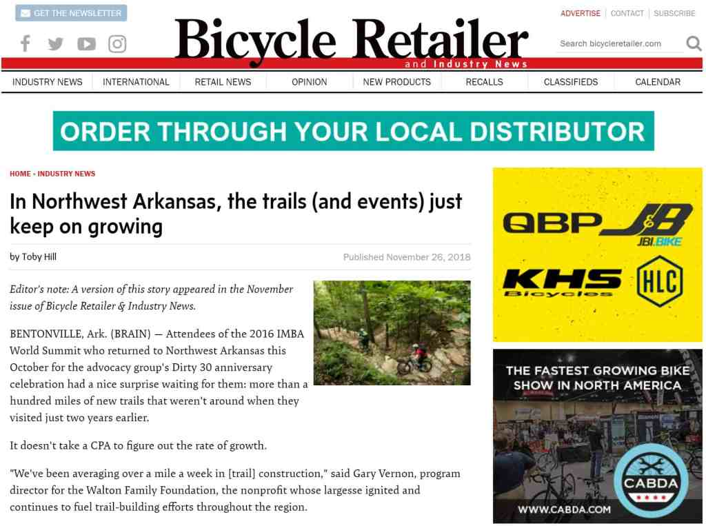 Tuesday Shorts 11/27 | NWA Cycling News - Ozark Cycling Adventures, Cycling news and Routes in Northwest Arkansas NWA