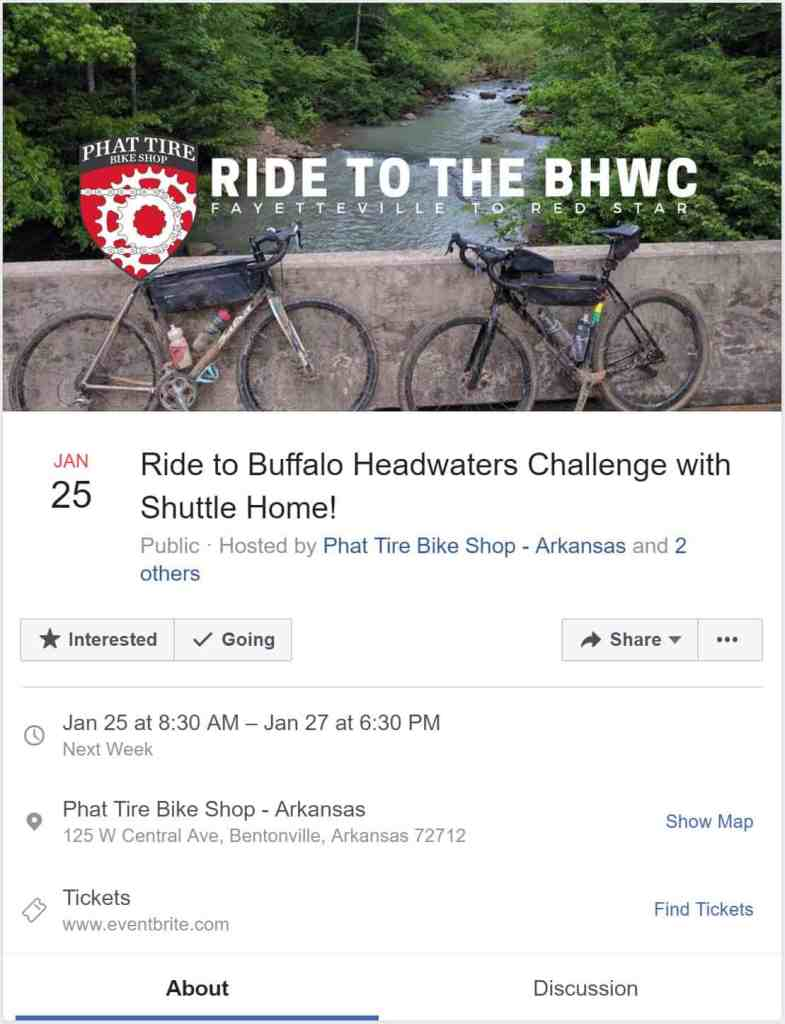 Weekend Ride Notification 12/21 | NWA Cycling News - Ozark Cycling Adventures, Cycling news and Routes in Northwest Arkansas NWA