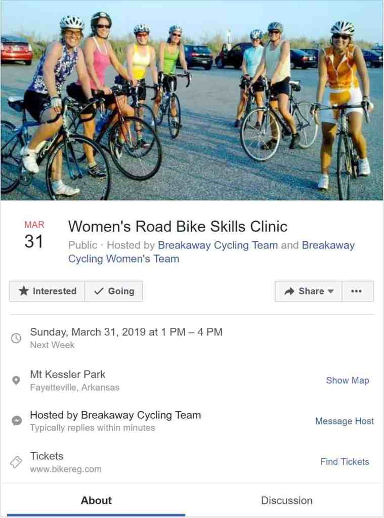 Weekend Ride Notification 3/29   NWA Cycling News - Ozark Cycling Adventures, Cycling news and Routes in Northwest Arkansas NWA