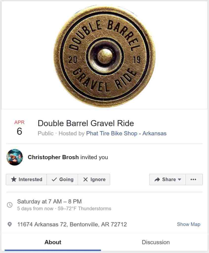 Weekend Ride Notification 4/5 | NWA Cycling News - Ozark Cycling Adventures, Cycling news and Routes in Northwest Arkansas NWA