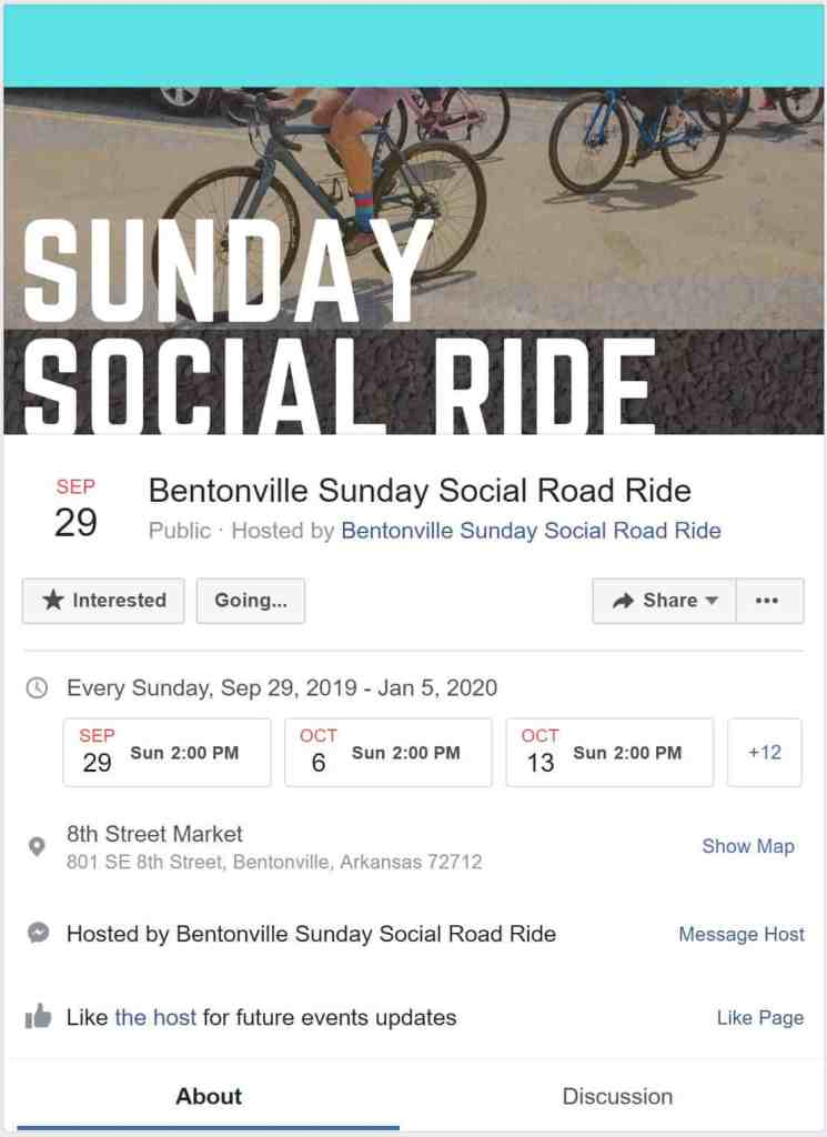 Weekend Ride Notification 1/11 | NWA Cycling News - Ozark Cycling Adventures, Cycling news and Routes in Northwest Arkansas NWA