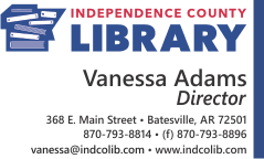 "The Independence County Library program, ""Marshall Mitchell's Cowboy Music for Kids"" on June 13"