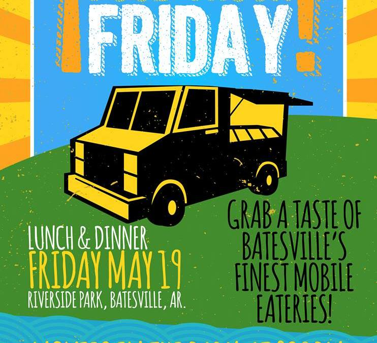 Food Truck Friday to be held Friday June 9th at Riverside Park