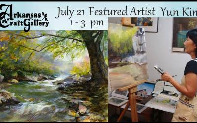 Arkansas Craft Gallery Events for July 2018