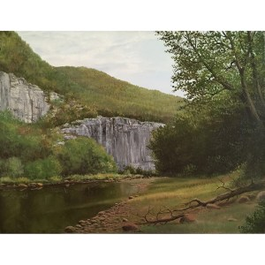 Ozarks Art Gallery | Gary Duncan - Steel Creek at Buffalo River