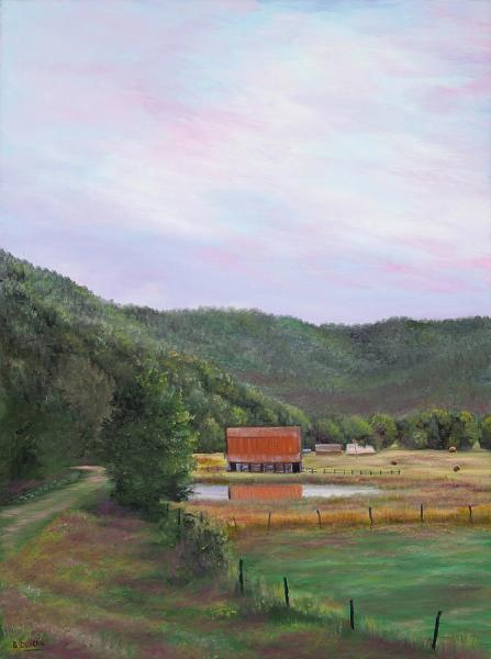 Ozarks Art Gallery | Ponca Valley - Left Panel by Gary Duncan
