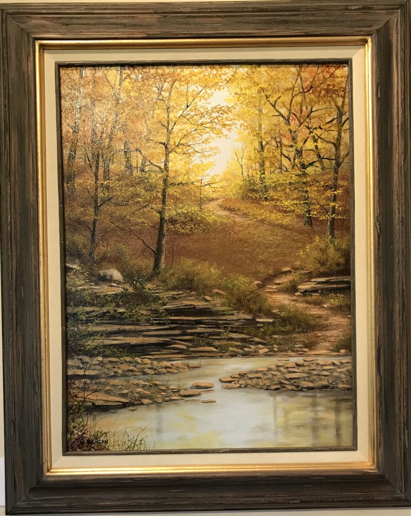Ozarks Art Gallery | Stepping Stones by Gary Duncan