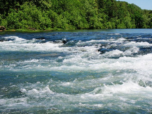North Fork Of The White River Ozark Sweetwater Fly Fishing