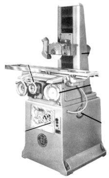 REID 618V 618H Surface Grinder Instruction Manual | Ozark Tool Manuals & Books
