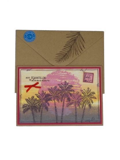 paysage de palmiers Likela