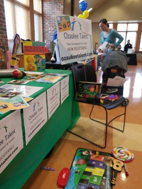 Ozaukee Talent at Kids Fair in Mequon