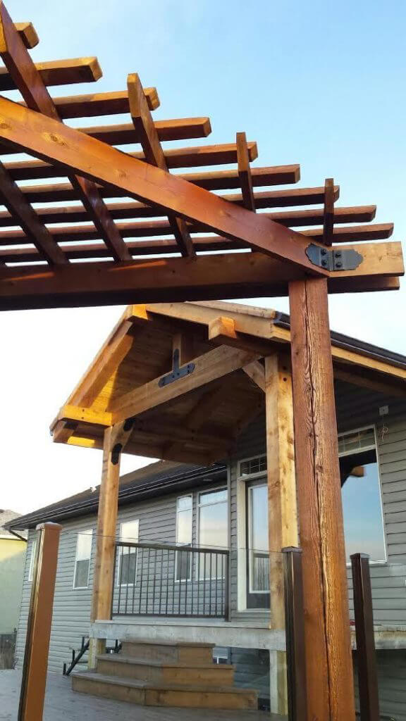 How To Determine Pergola Rafter Spacing Ozco Building