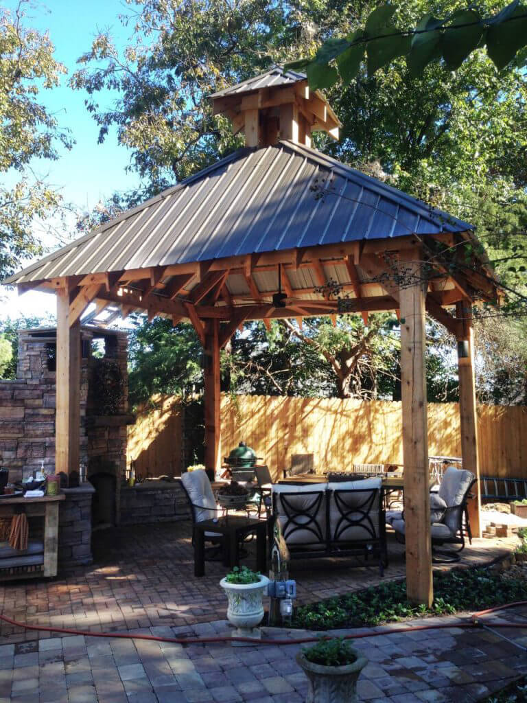 how to build a square gazebo roof the