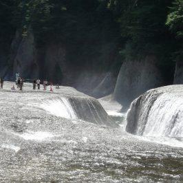 Japanese Niagara falls : Fukiware Falls/Fukiware no Taki in Gunma