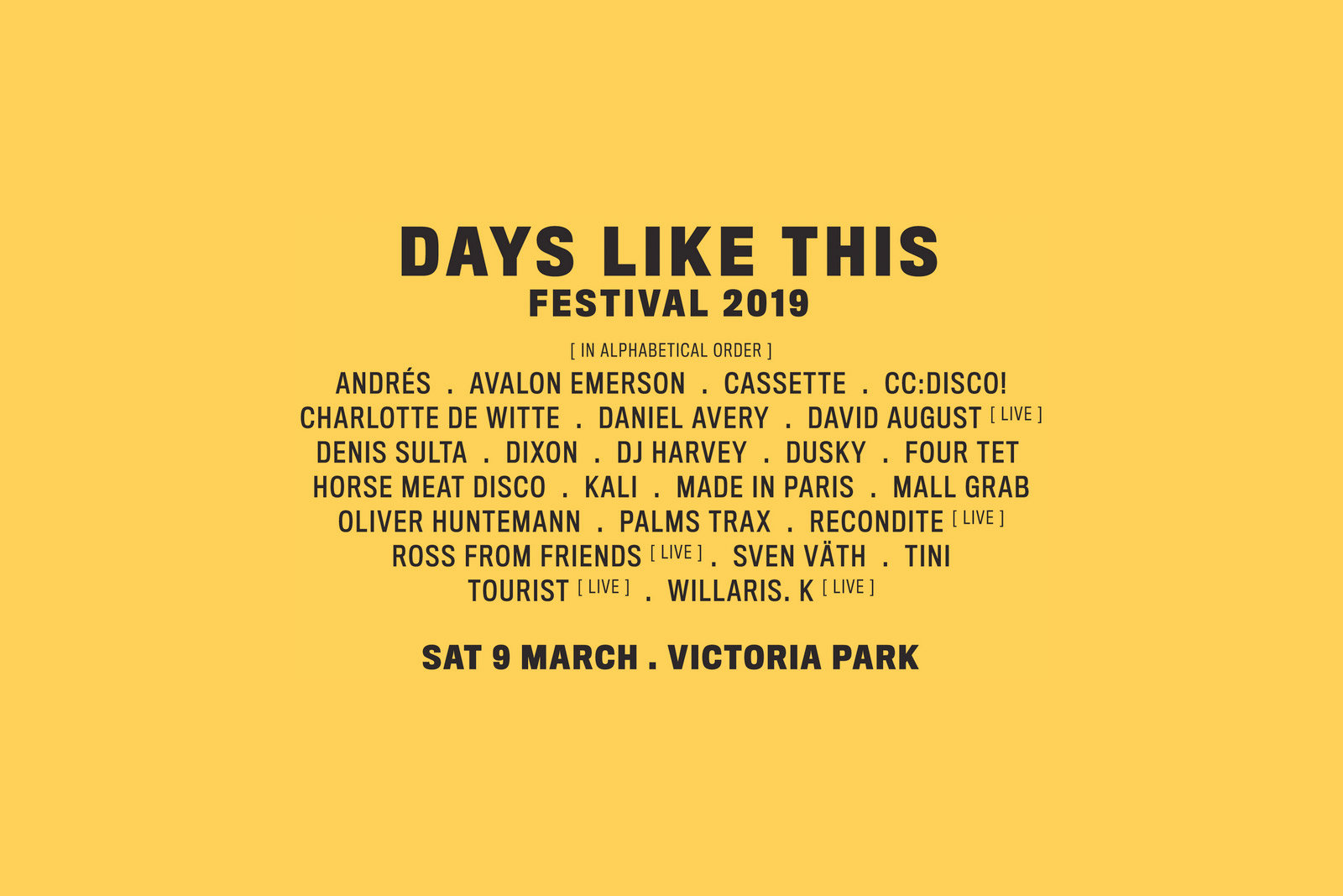 days-like-this-festival-2019-lineup-oz-edm