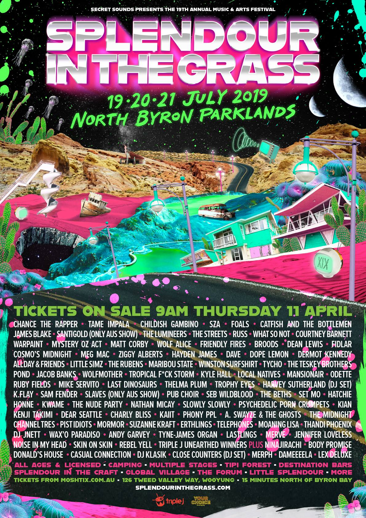 splendour-in-the-grass-2019-lineup