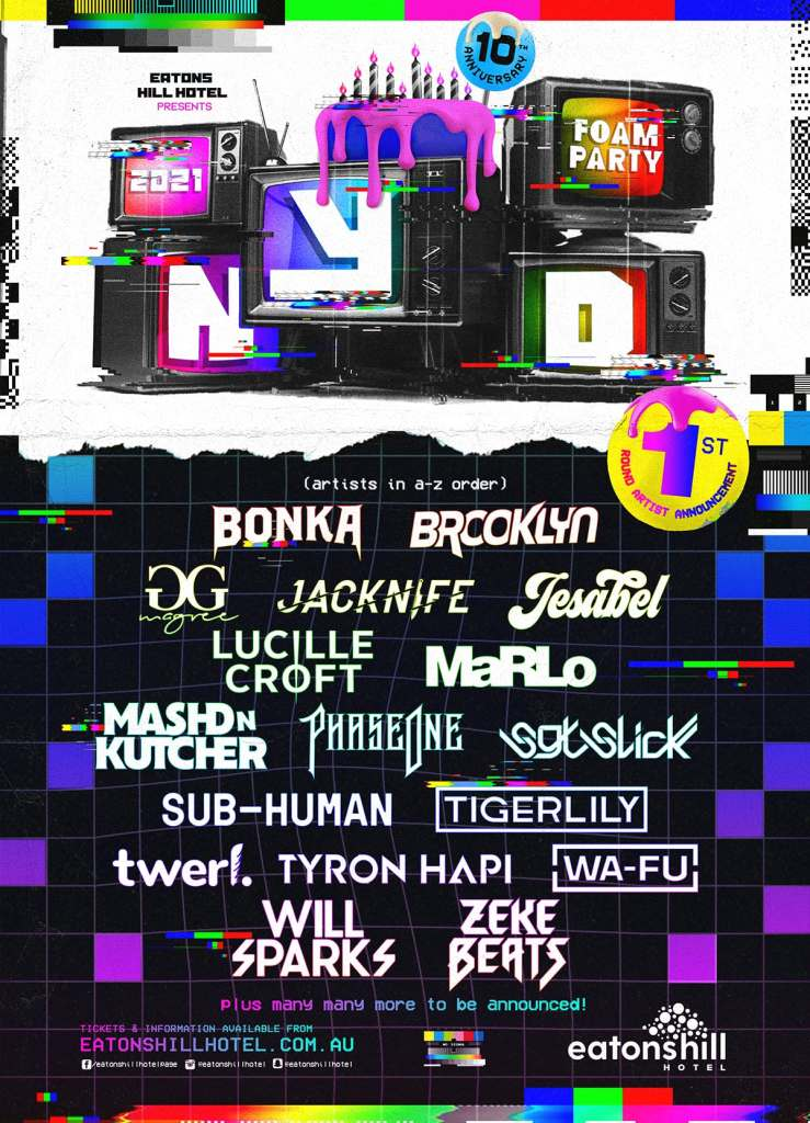 Eatons-Hill-Hotel-NYD-2021-Phase-1-Lineup-Poster-oz-edm