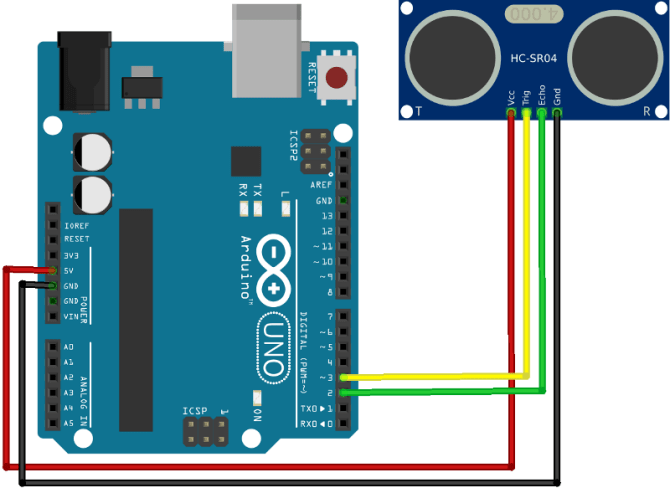 ozeki  how to use an ultrasonic sensor in arduino