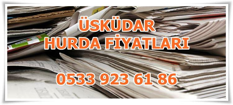 Üsküdar Gazete Hurdası En İyi Fiyattan