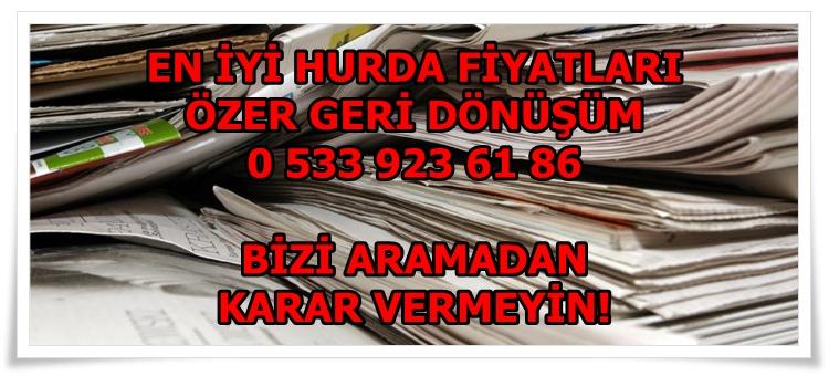 Ataşehir Gazete Hurdası En İyi Fiyattan