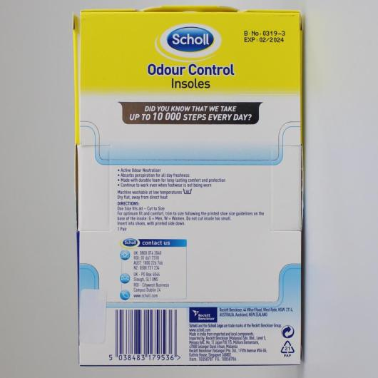 scholl active insole
