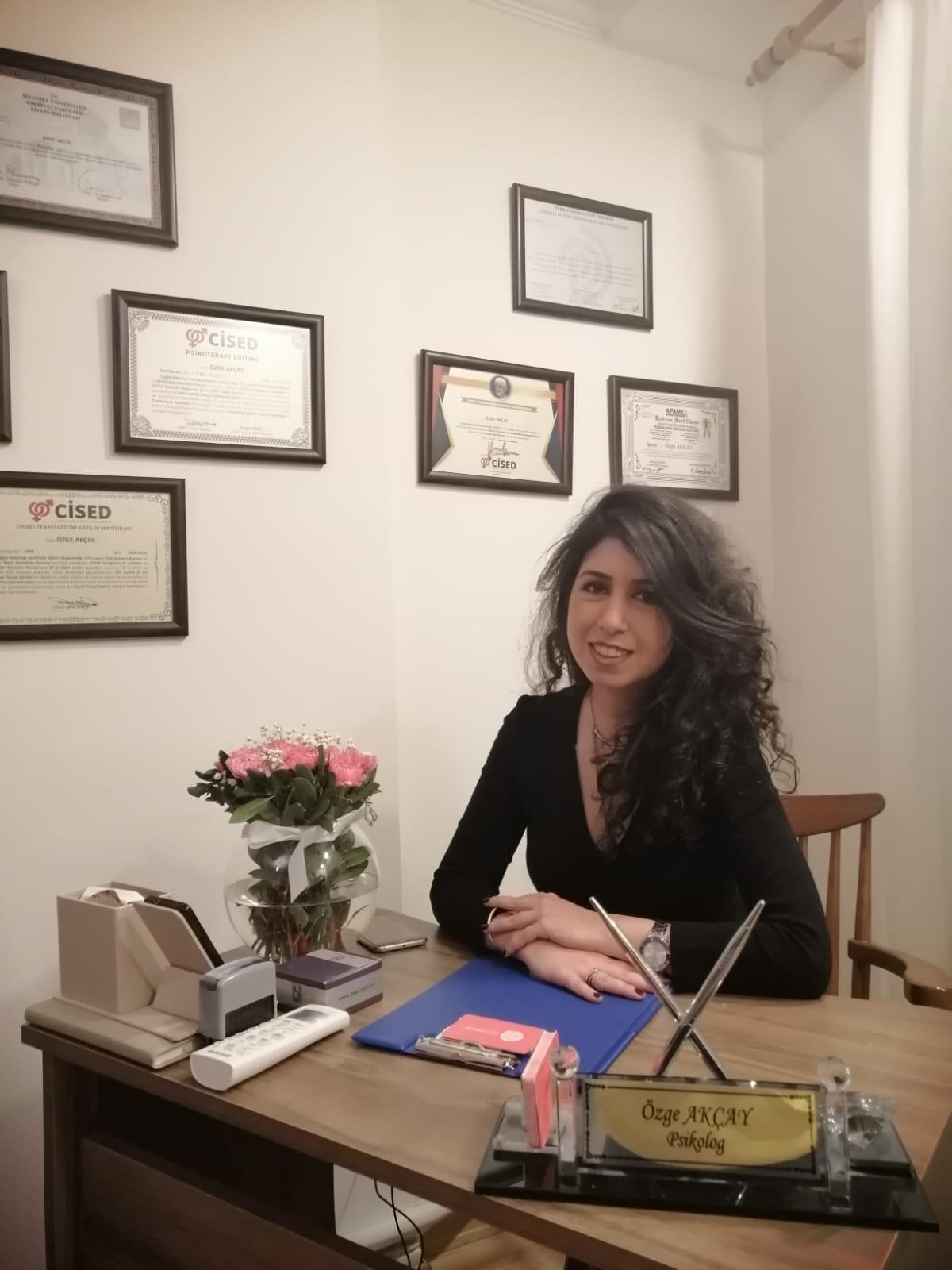 Gaziosmanpaşa - Uzman Psikolog Özge Akçay