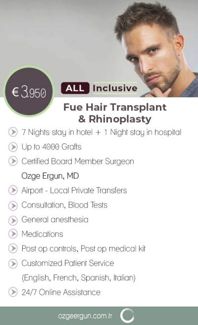 Hair Transplant - Rhino Package