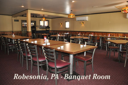 Robesonia Banquet Room