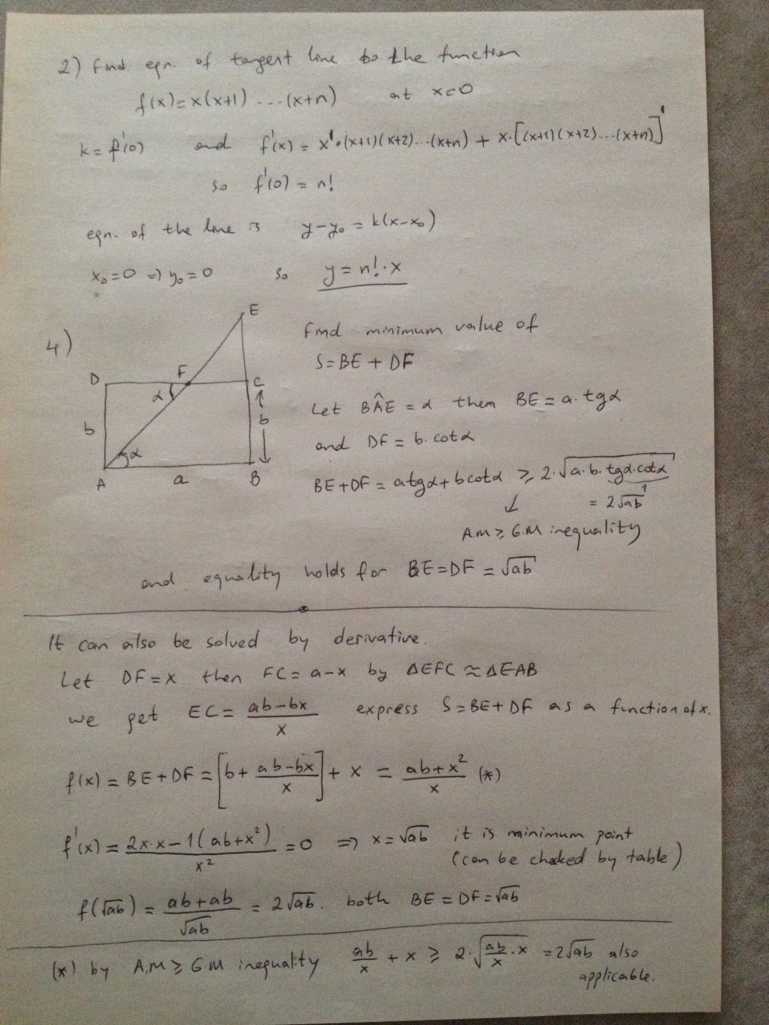 Maths Olympiad Past Papers