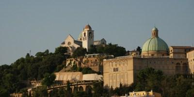 Ancona Church Basilica. Marche, Italy