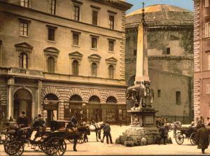 Piazza del Minerva, Rome Italy