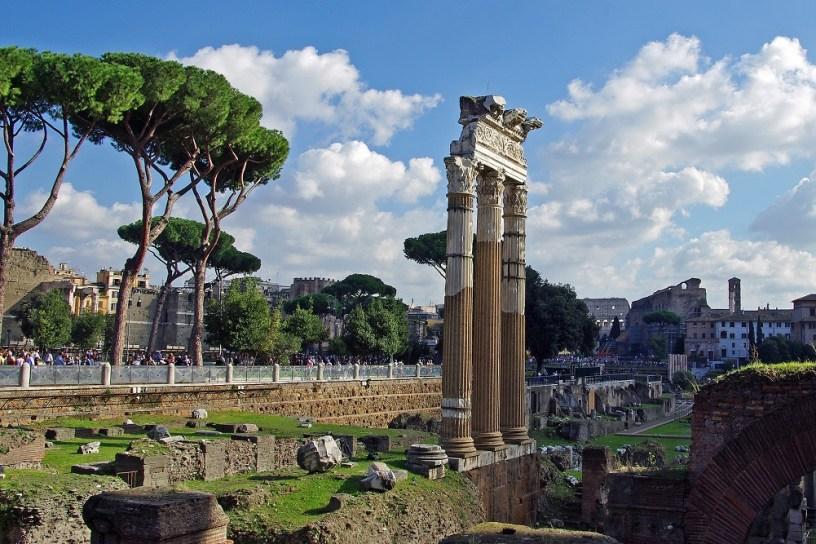 Via dei Fori Imperiali, Roma Italya Arkeoloji
