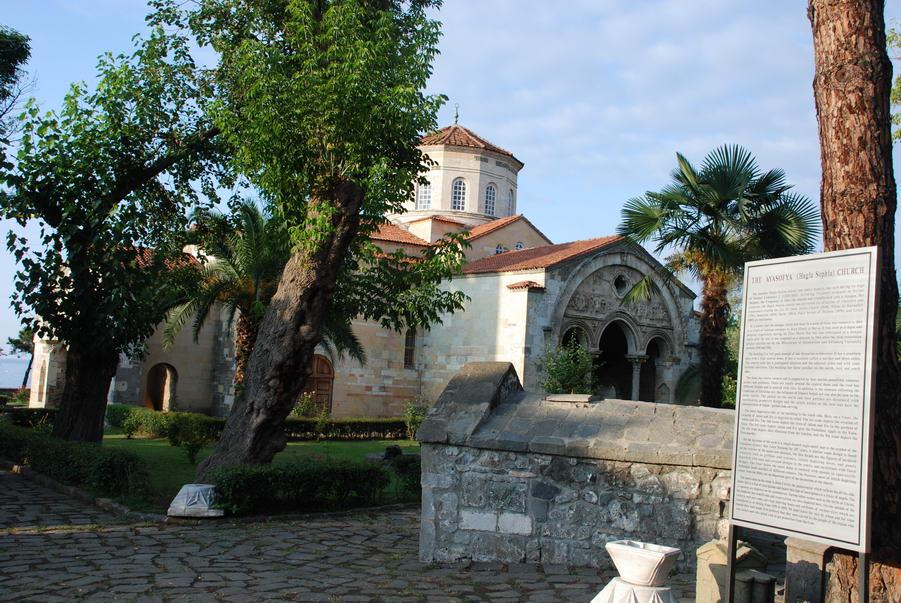 Trabzon Hagia Sophia museum, church, mosque Trebizond empire cathedral