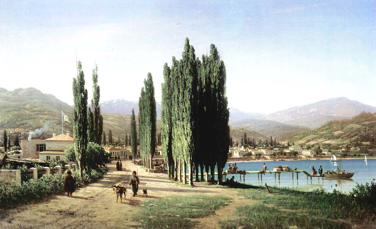 Old photos of Sukhumi, capital of Abkhazia