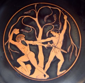 Theseus and Sinis