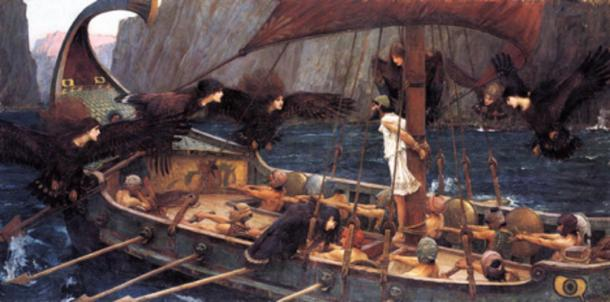 Ulysses (Odysseus) and the Sirens, 1891, John William Waterhouse
