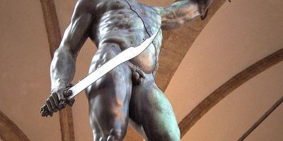 Perseus by Benvenuto Cellini, Loggia dei Lanzi, Florence, Italy