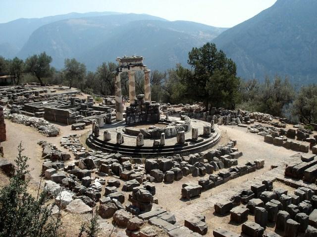 Delphi Eski Site Yunanistan