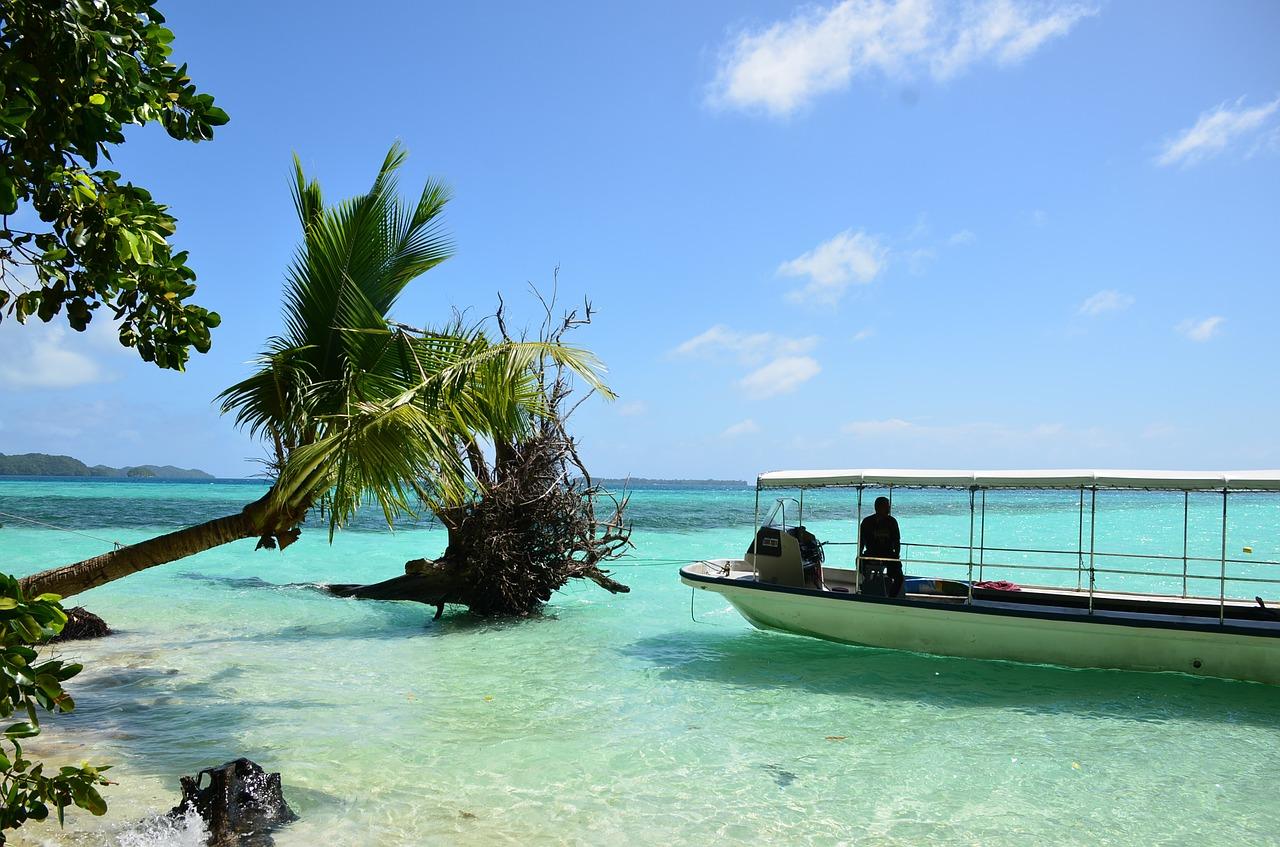 Micronesia, Palau beach