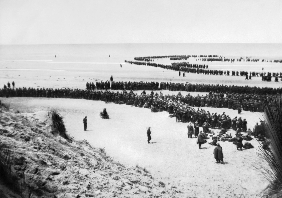 "Churchill has given the order to begin ""Operation Dynamo"": the evacuation of the British Expeditionary Force to UK, via Dunkirk. Almost 400,000 Allied troops await rescue."
