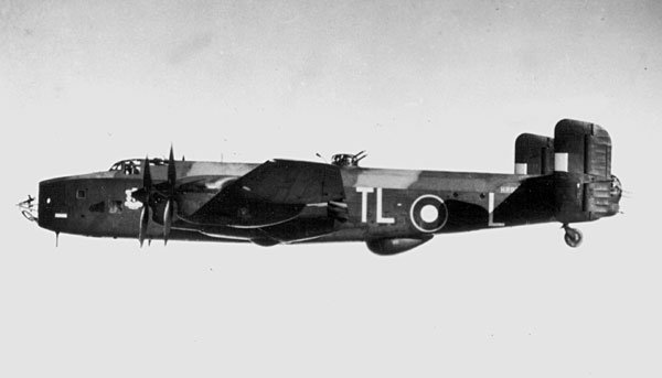 Last night was the maiden mission of British Handley Page Halifax bomber, raiding French ports- but 1 out of 6 new planes was shot down by RAF fighters, who confused unfamiliar design for a German plane.